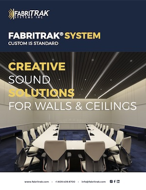 Fabritrak brochure of track system