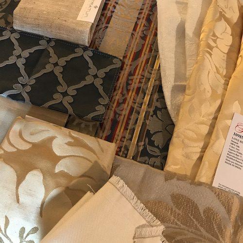selection of precious textiles